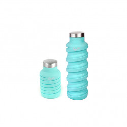 Que Collapsible Water Bottle, Misty Mint, 590 ml