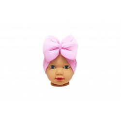 Baby Turban Headband, Baby Pink