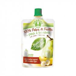 Pro Org Pear And Banana Pulp Puree 100g